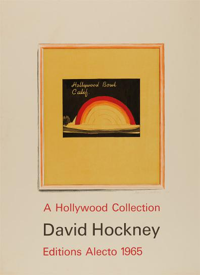 David Hockney-Hollywood Bowl Poster-1966