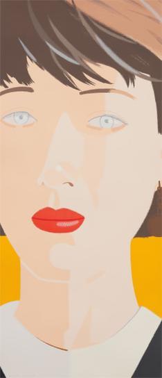 Alex Katz-Samantha-1987