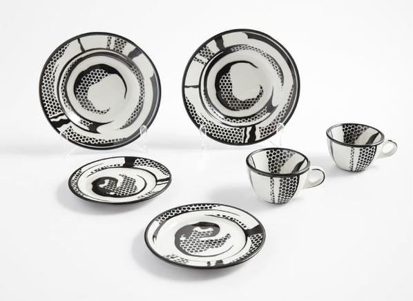 Roy Lichtenstein-Dinnerware-1966