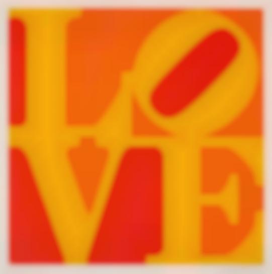 Robert Indiana-Golden Love-1973