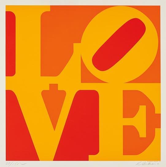 Robert Indiana-Golden Love-1973