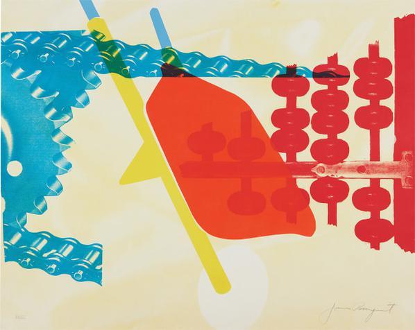 James Rosenquist-Whipped Butter For Eugene Ruchin, From 11 Pop Artists, Volume Ii-1965