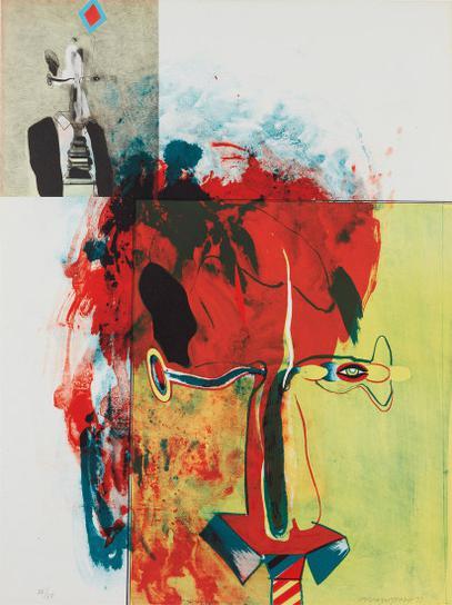 Allen Jones-Untitled, From Album-1971