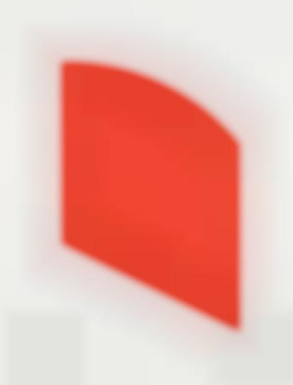 Ellsworth Kelly-Red, From Fourth Curve Series-2003