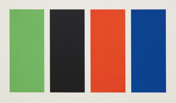 Ellsworth Kelly-Four Panels-1971