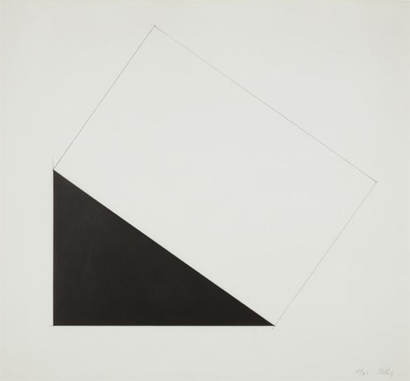 Ellsworth Kelly-Amden, From Series Of Seven Lithographs-1980