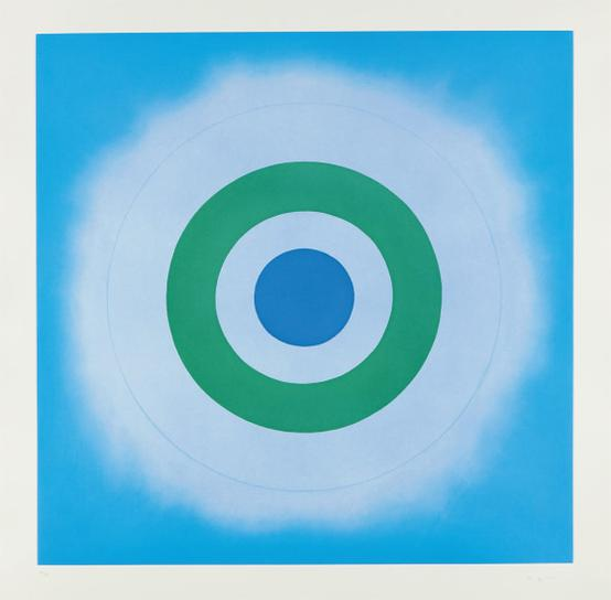 Kenneth Noland-Untitled-2009