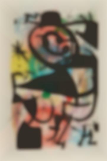 Joan Miro-Le Pitre Rose (Pink Clown)-1974