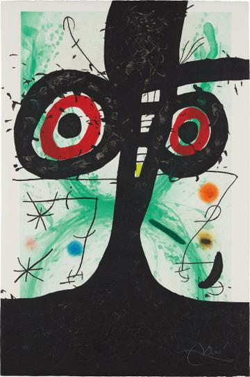 Joan Miro-Le Vieil Irlandais (The Old Irishman)-1969
