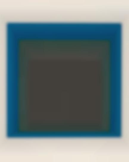 Josef Albers-Slate And Sky-1964