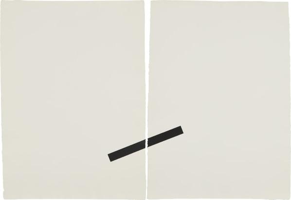 Richard Tuttle-Print (Diptych)-1976