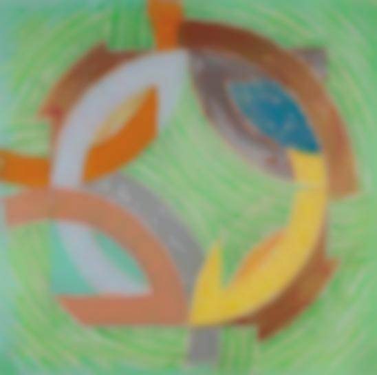 Frank Stella-Polar Co-Ordinates Iv (From Polar Co-Ordinates For Ronnie Peterson)-1980