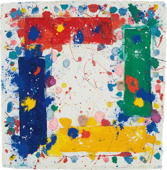 Sam Francis-Untitled (Sfm 81-004)-1981