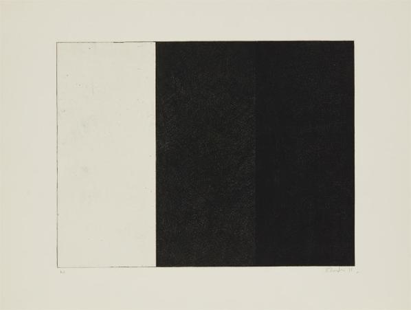 Brice Marden-Untitled, From Ten Days-1971