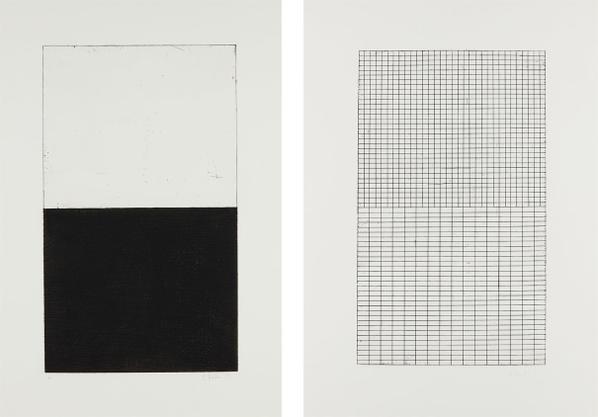 Brice Marden-Adriatics: Plates B; And E-1973