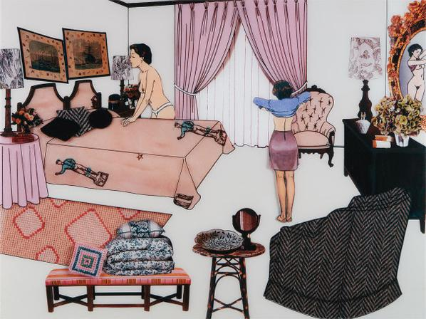 Laurie Simmons-The Instant Decorator (Pink Bedroom)-2001