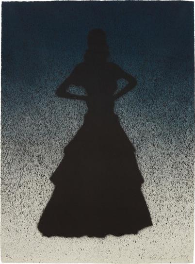 Ed Ruscha-Bailarina, From Portfolio California-1988