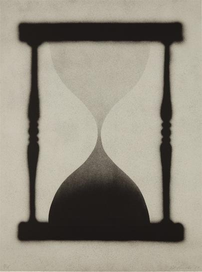 Ed Ruscha-Time Is Up-1989