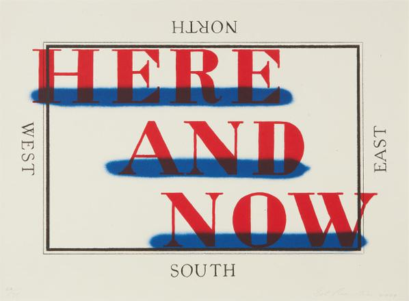 Ed Ruscha-Here And Now-2009