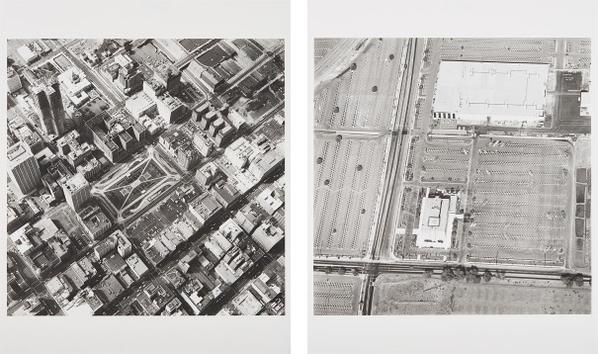 Ed Ruscha-Pershing Square Underground Lot, 5Th & Hill; And Rocketdyne, Canoga Park, From Parking Lots-1999