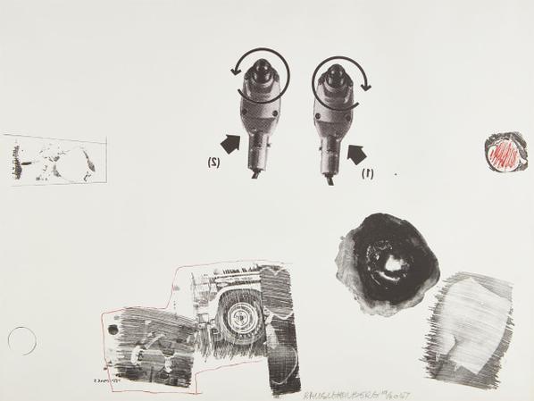 Robert Rauschenberg-Test Stone 5-1967
