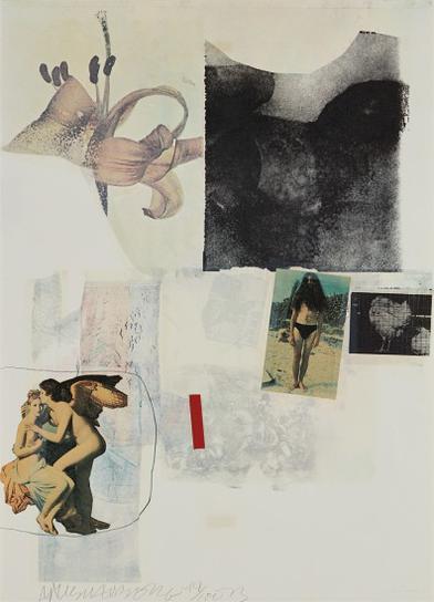 Robert Rauschenberg-Untitled-1973