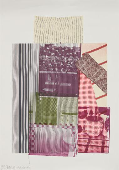 Robert Rauschenberg-Pre-Moroco, From Eight By Eight To Celebrate The Temporary Contemporary-1983