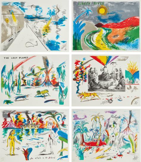 H.C. Westermann - Six Lithographs-1972