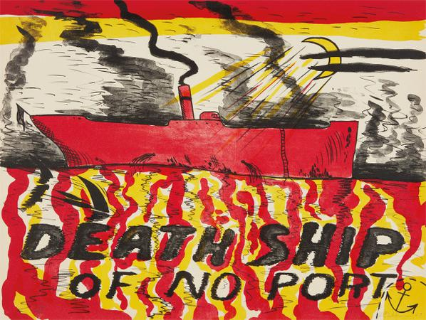 H.C. Westermann - Death Ship Of No Port (Deathship Of No Port, Red Deathship)-1967
