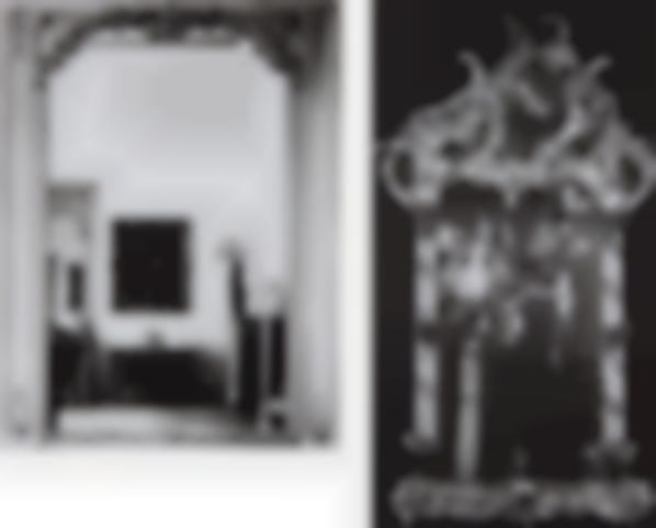 Barbara Bloom-The Reign Of Narcissism, Mirror I; And The Reign Of Narcissism, Mirror VI-1989