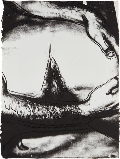 Andy Warhol-Sex Parts: One Plate-1978