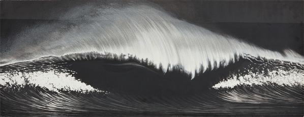 Robert Longo-Wave, For Lincoln Center Festival-2003