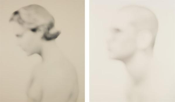 Bill Jacobson - Interim Portrait #388; And Interim Portrait #522-1992