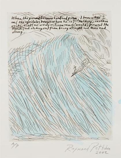 Raymond Pettibon-Untitled (When The Ground Becomes Clear And Firm)-2002