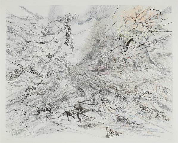 Julie Mehretu-The Residual-2007