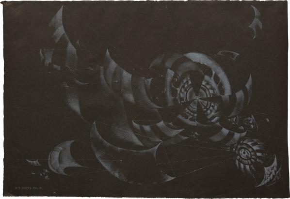 Lee Bontecou-Fourteenth Stone-1972