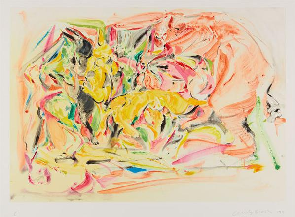 Cecily Brown-Untitled #6-1999