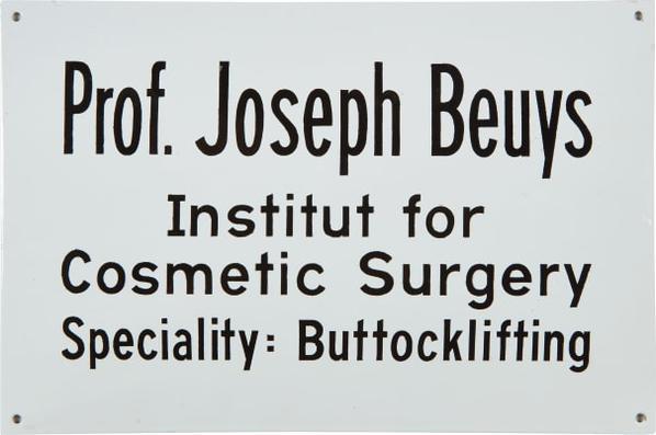 Joseph Beuys-Buttocklifting-1974