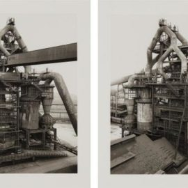 Bernd and Hilla Becher-Hochofen; And Ilsede/Hannover (Blast-Furnace; And Ilsede/Hannover), From Sequence Portfolio-1998