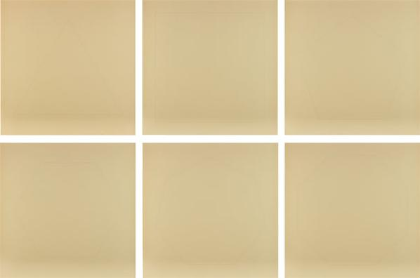 Walter De Maria-The Pure Polygon Series: Six Plates-1976