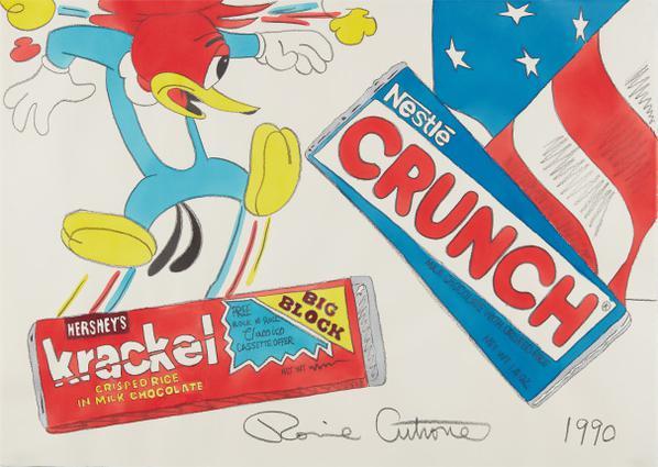 Ronnie Cutrone - Krackel - Crunch-1990