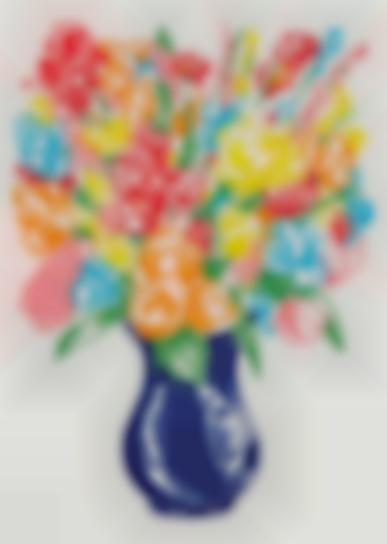 Jeff Koons-Flowers-2001
