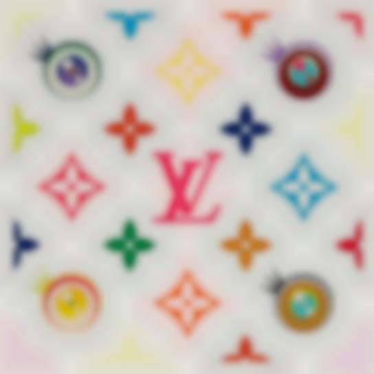 Takashi Murakami-Eye Love Superflat (Pink)-2003