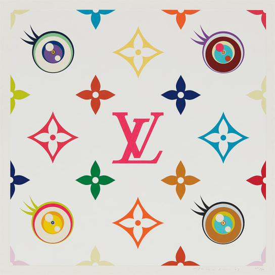 Takashi Murakami-Eye Love Superflat (Pink)-2003