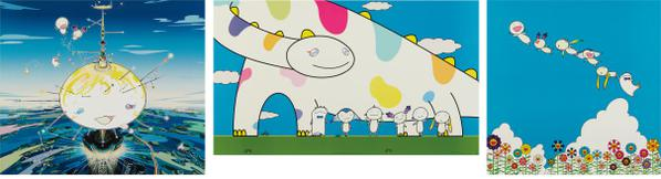 Takashi Murakami-Mamu Came From The Sky; Yoshiko And The Creatures Came From Planet 66; And Planet 66 Summer Vacation-2004
