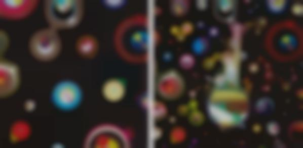 Takashi Murakami-Jellyfish Eyes - Black 2; And Jellyfish Eyes-2013