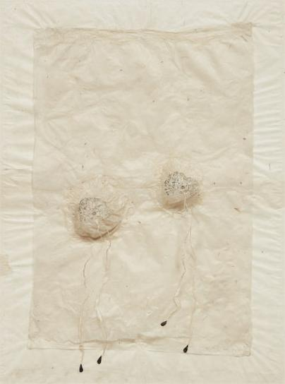 Kiki Smith-Untitled (Bosoms With Black Milk)-1994