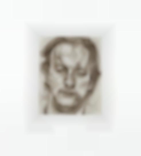 Lucian Freud-Head Of A Man-1987