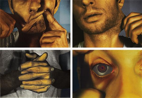 Bruce Nauman-Infrared Outtakes-2006