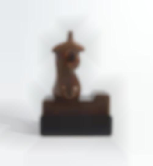 Henry Moore-Three-Quarter Figure: Chest-1981
